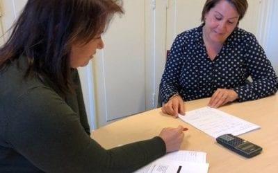 Kelly Regerschot maakt centraal examen AVWO.